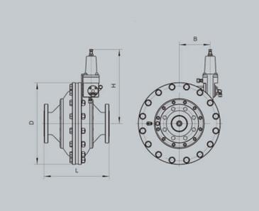 RTJ-*/*M系列轴流式调压器